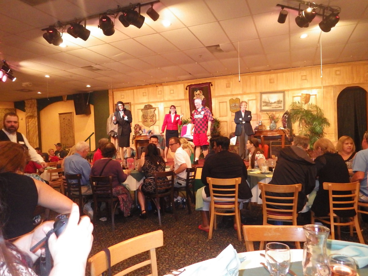 Sleuths Mystery Dinner Shows  Top 5 Reasons to Play Detective at Sleuths Mystery Dinner