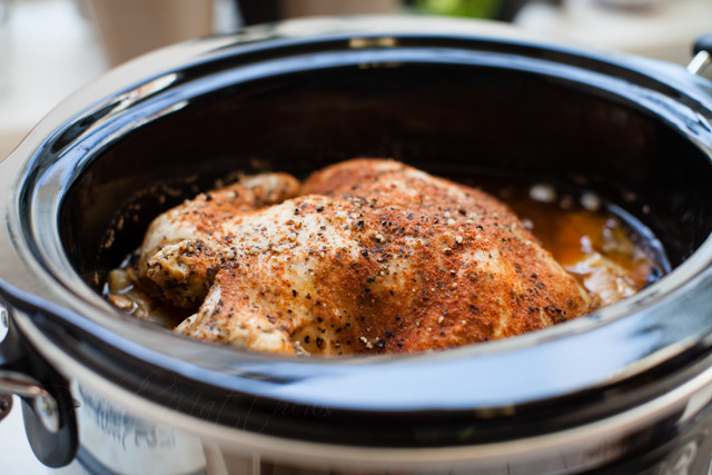 Slow Baked Chicken  Baked Slow Cooker Chicken Recipe — Dishmaps