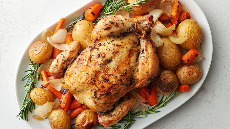 Slow Baked Chicken  Slow Cooker Roast Chicken Recipe Tablespoon