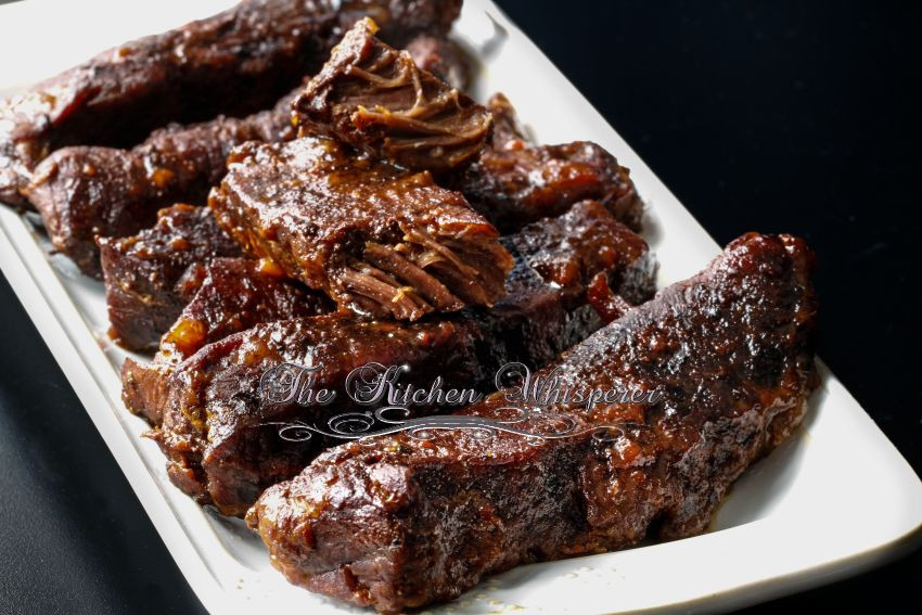 Slow Cook Beef Ribs In Oven  Slow Baked Boneless Beef Short Ribs