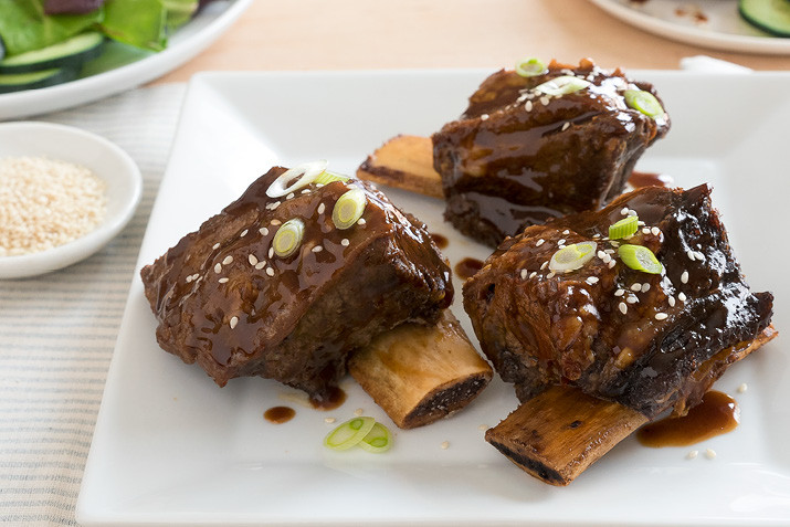 Slow Cook Beef Ribs In Oven  Slow Cooker Teriyaki Beef Ribs Recipe