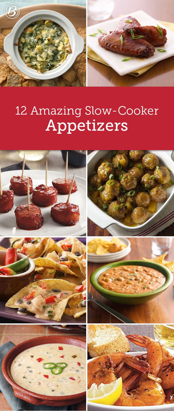 Slow Cooker Appetizers  12 Slow Cooker Party Apps