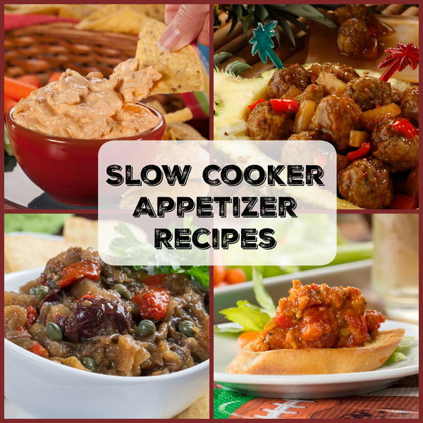 Slow Cooker Appetizers  Yummy Slow Cooker Appetizer Recipes