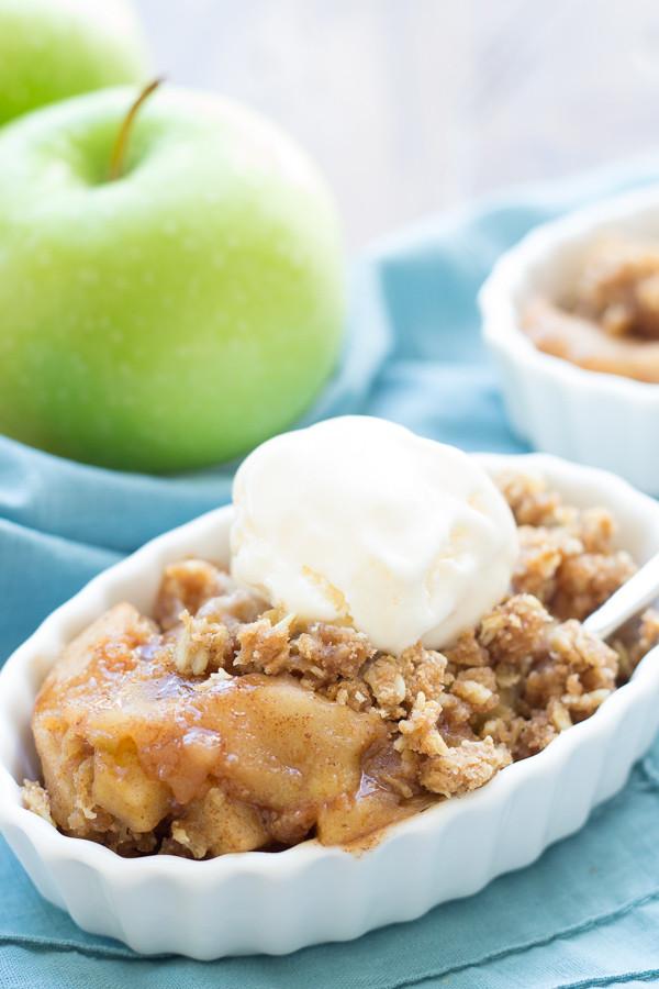Slow Cooker Apple Cobbler  15 Best Slow Cooker Desserts – Tip Junkie