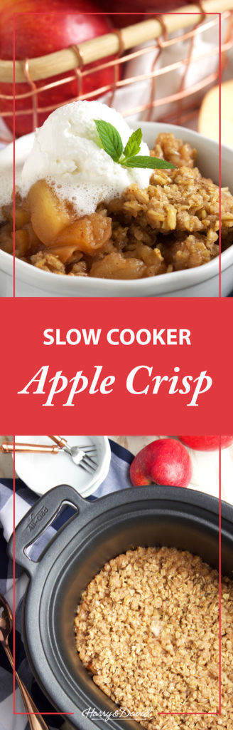 Slow Cooker Apple Cobbler  Slow Cooker Apple Crisp Goodness