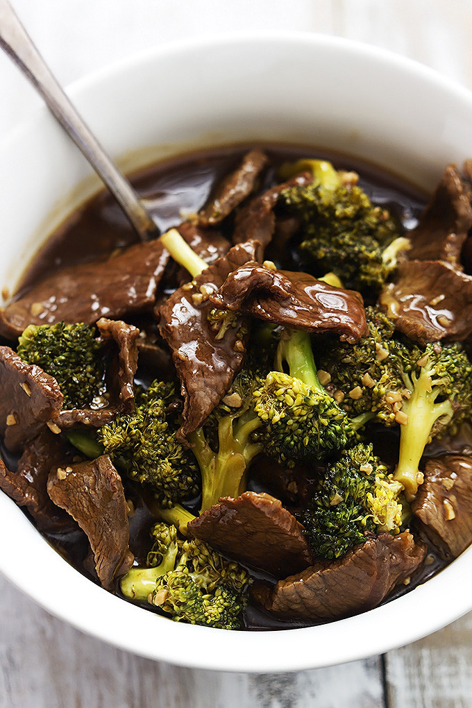 Slow Cooker Beef And Broccoli  Top Slow Cooker Recipes Slow Cooker Broccoli Beef