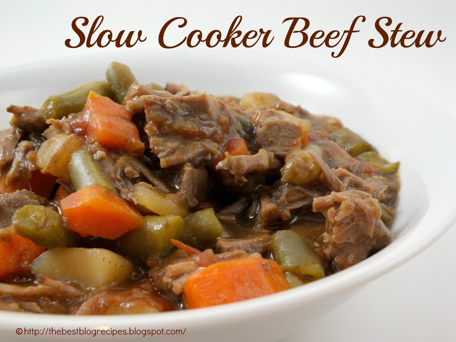 Slow Cooker Beef Stew Recipes  The Best Blog Recipes Slow Cooker Beef Stew