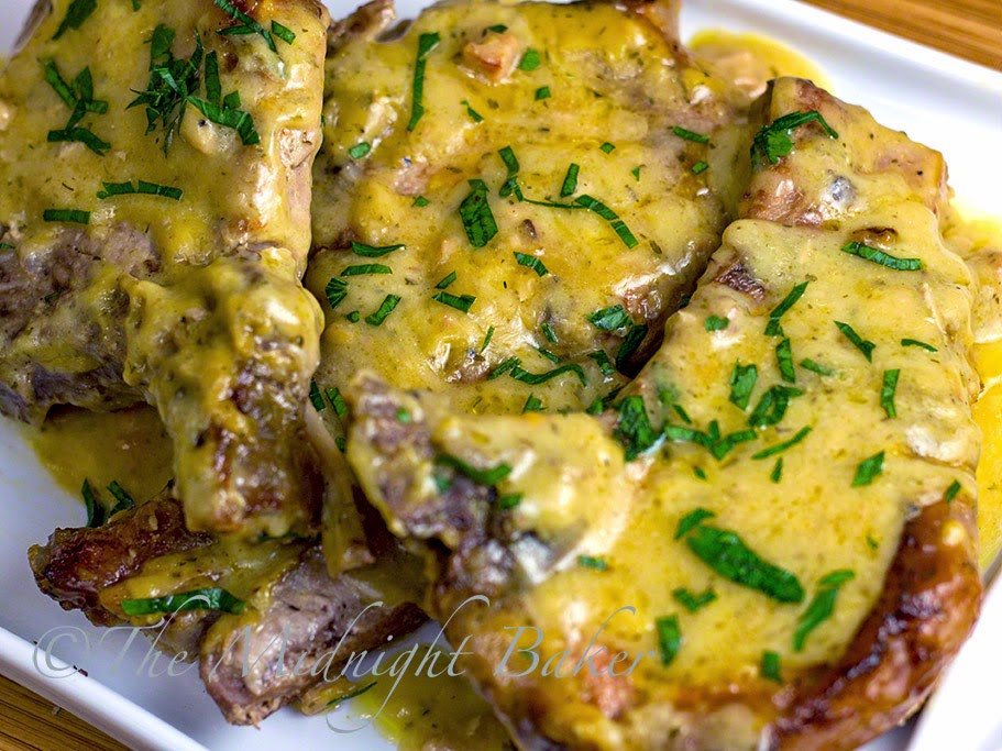 Slow Cooker Bone In Pork Chops  Slow Cooker Pork Chops with Golden Ranch Gravy The