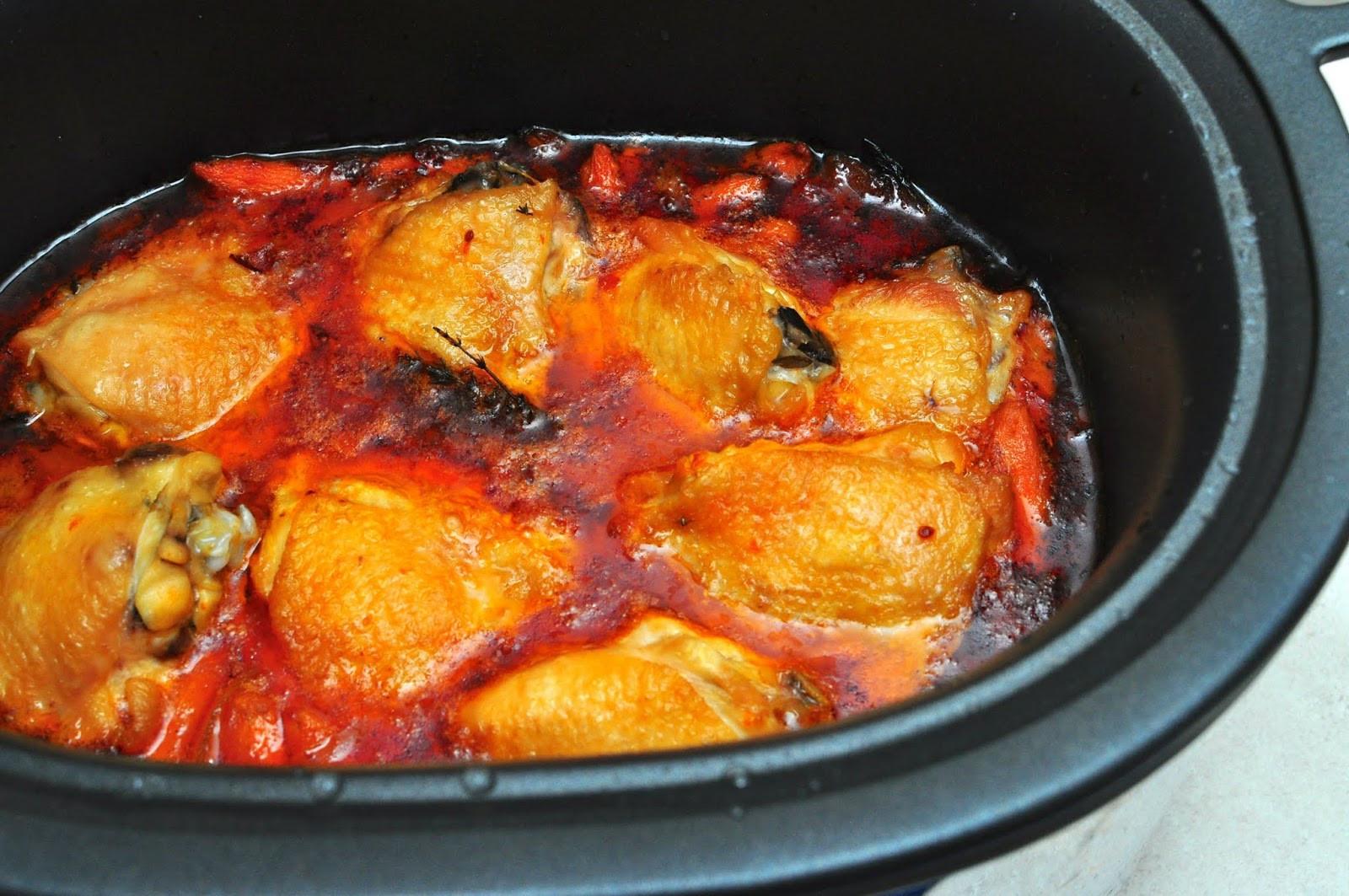 Slow Cooker Boneless Chicken Thighs  Slow Cooker Braised Chicken Thighs Dad Cooks Dinner