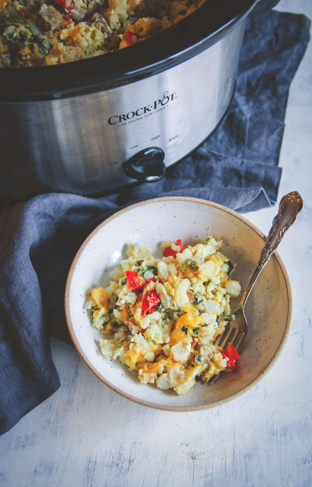 Slow Cooker Breakfast Casserole Healthy  slow cooker breakfast casserole healthy