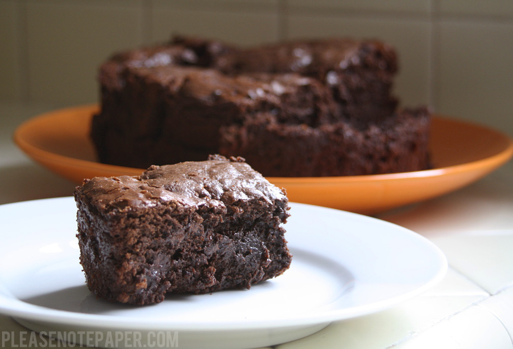 Slow Cooker Brownies  Please Note Slow Cooker Brownies An Experiment