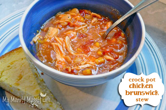 Slow Cooker Brunswick Stew  Easy Slow Cooker Chicken Brunswick Stew recipe My