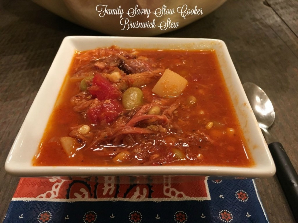 Slow Cooker Brunswick Stew  Slow Cooker Brunswick Stew Family Savvy