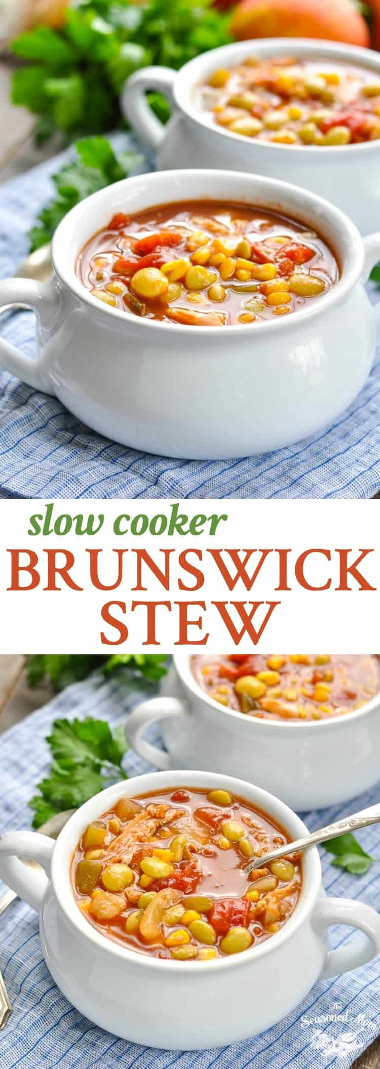 Slow Cooker Brunswick Stew  Slow Cooker Brunswick Stew The Seasoned Mom