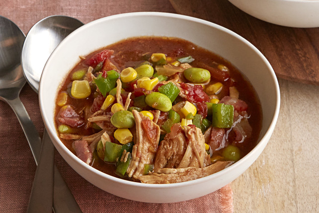 Slow Cooker Brunswick Stew  Slow Cooker Brunswick Stew Kraft Recipes