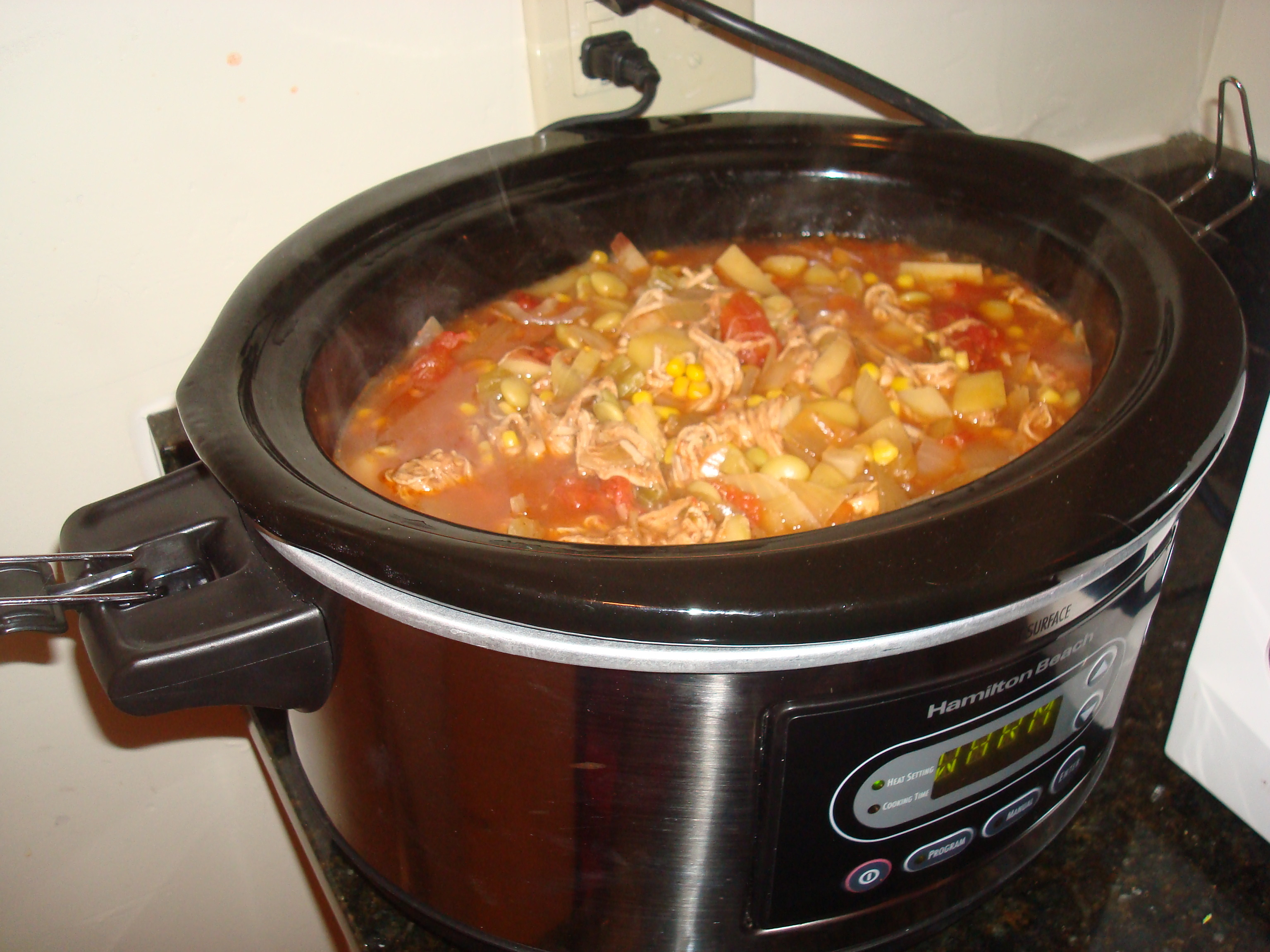 Slow Cooker Brunswick Stew  Slow Cooker Brunswick Stew