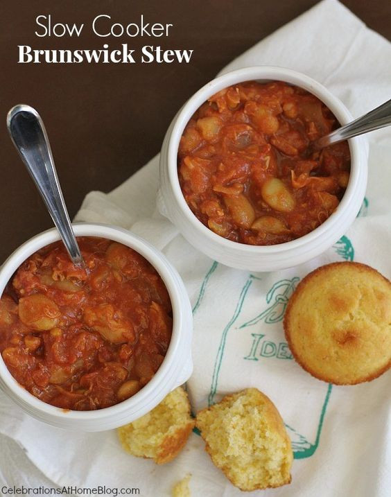 Slow Cooker Brunswick Stew  Stew Home and Brunswick stew on Pinterest