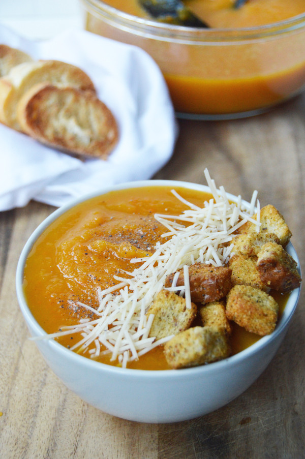 Slow Cooker Butternut Squash Soup  Easy Slow Cooker Butternut Squash Soup