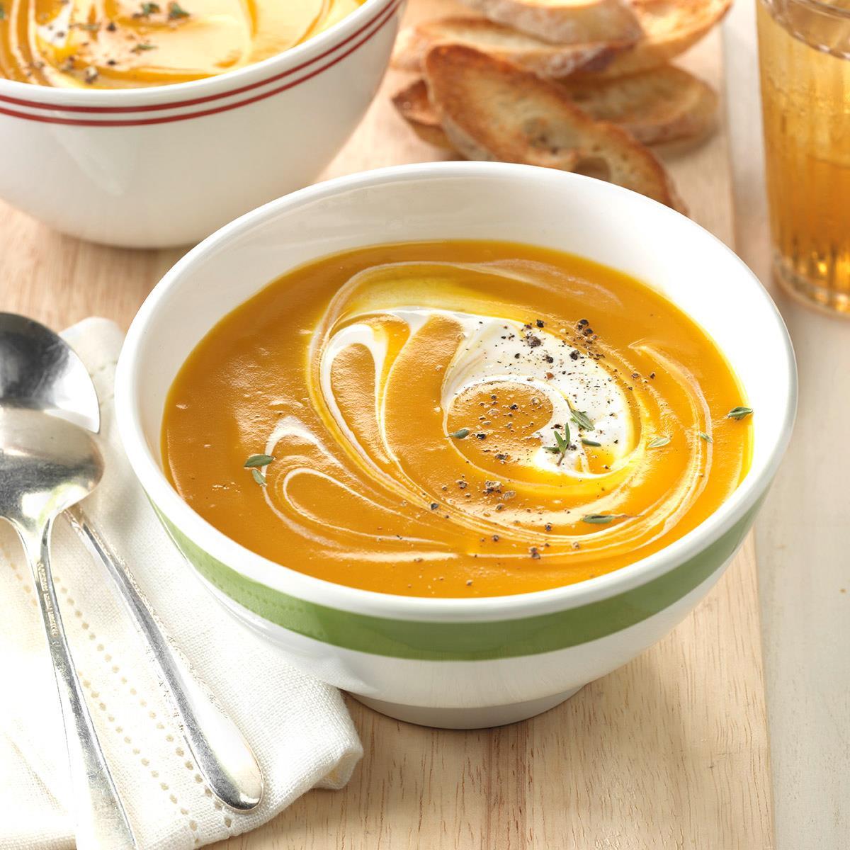 Slow Cooker Butternut Squash Soup  Slow Cooker Butternut Squash Soup Recipe