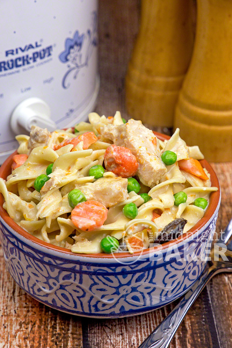 Slow Cooker Chicken And Noodles  Slow Cooker Extra Creamy Chicken and Noodles The