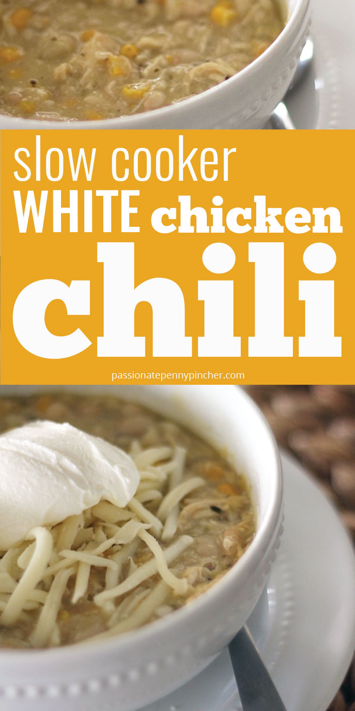 Slow Cooker Chicken Chili  Slow Cooker White Chicken Chili