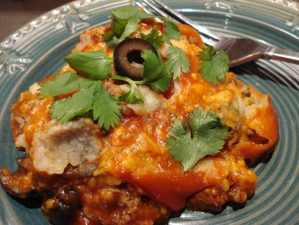 Slow Cooker Chicken Enchilada Casserole  Crock Pot Slow Cooker Enchilada Casserole Recipe Food