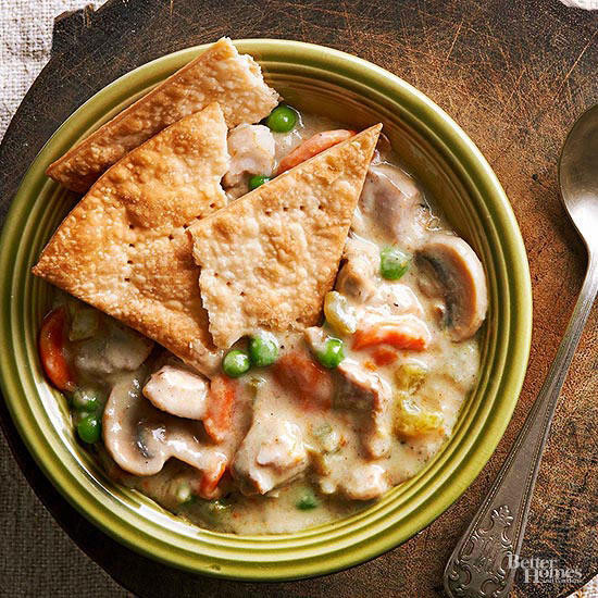 Slow Cooker Chicken Pot Pie Real Simple  Our Best Slow Cooker Chicken Recipes
