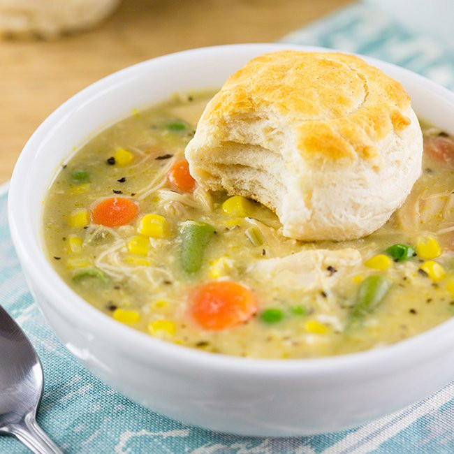 Slow Cooker Chicken Pot Pie Real Simple  10 Low Calorie Healthy Slow Cooker Recipes