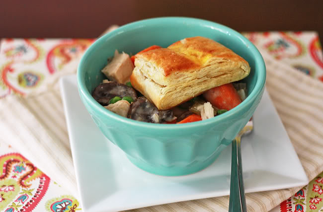 Slow Cooker Chicken Pot Pie Real Simple  slow cooker chicken and mushroom pot pie e Lovely Life