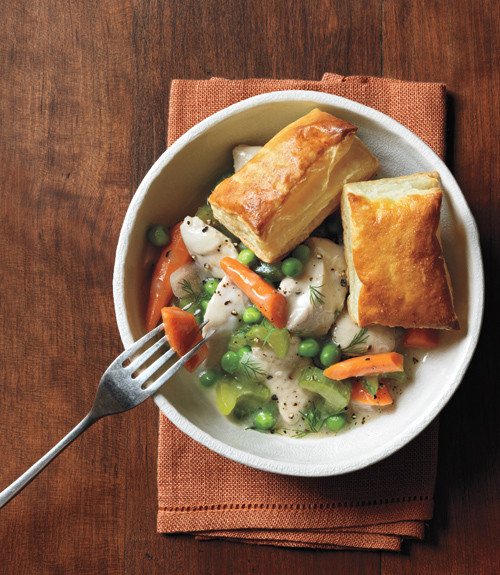 Slow Cooker Chicken Pot Pie Real Simple  Slow Cooker Chicken Pot Pie Recipe