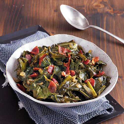 Slow Cooker Collard Greens  Balsamic Collard Greens Slow Cooker Side Dishes