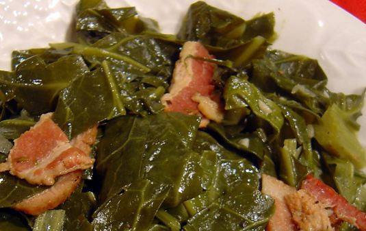 Slow Cooker Collard Greens  Slow Cooked Collard Greens — Moms with Crockpots