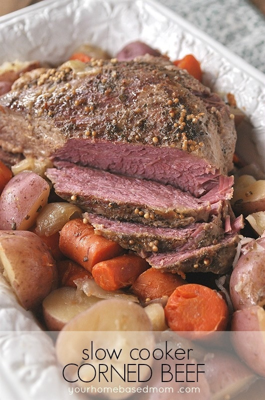 Slow Cooker Corn Beef  What s For Dinner Meal Plan 20 your homebased mom