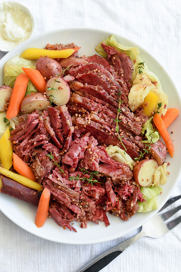 Slow Cooker Corn Beef  Slow Cooker Corned Beef and Cabbage