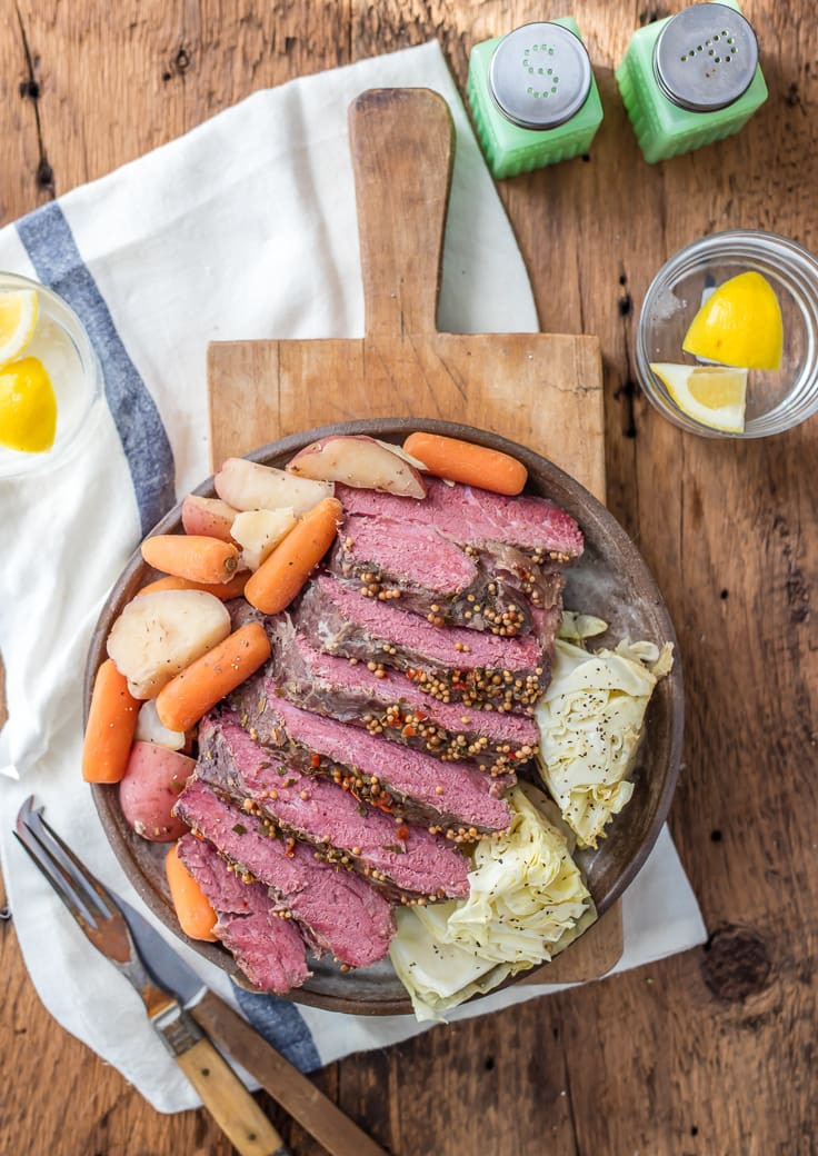 Slow Cooker Corn Beef  Traditional Slow Cooker Corned Beef and Cabbage The