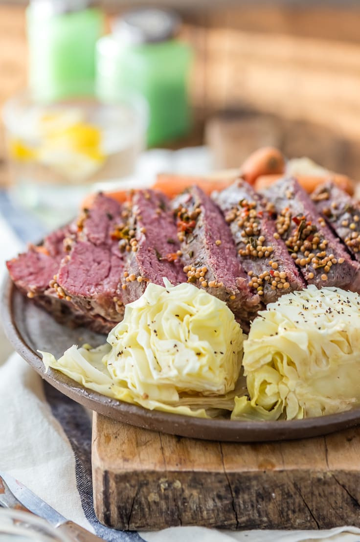 Slow Cooker Corned Beef And Cabbage And Red Potatoes  Traditional Slow Cooker Corned Beef and Cabbage The