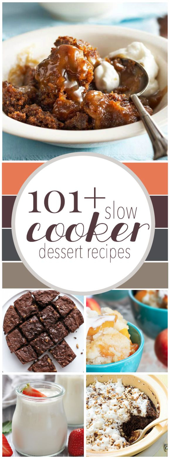 Slow Cooker Dessert Recipes  1000 ideas about Slow Cooker Desserts on Pinterest