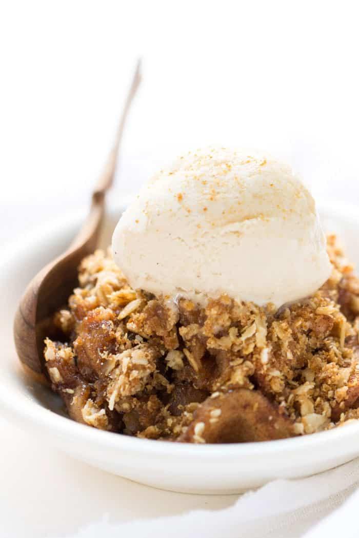Slow Cooker Dessert Recipes  Slow Cooker Quinoa Apple Crisp Simply Quinoa