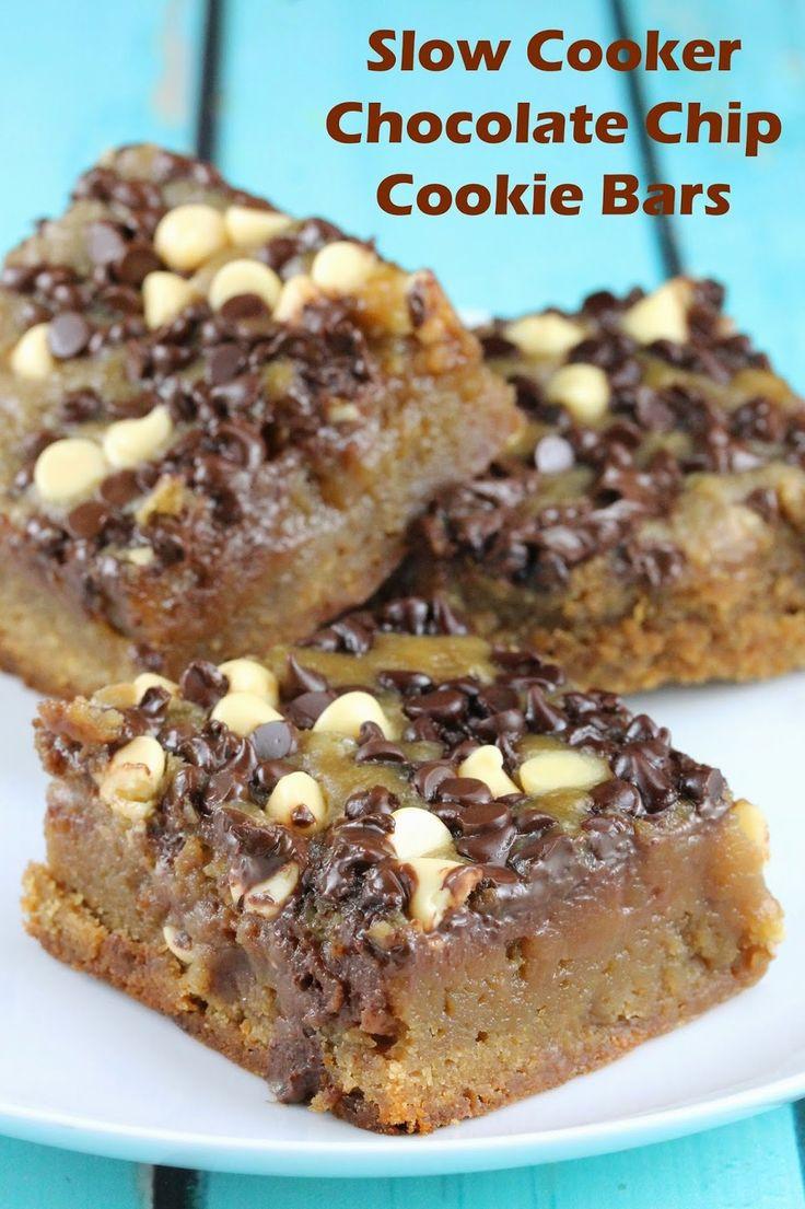 Slow Cooker Dessert Recipes  389 best Slow Cooker Desserts images on Pinterest