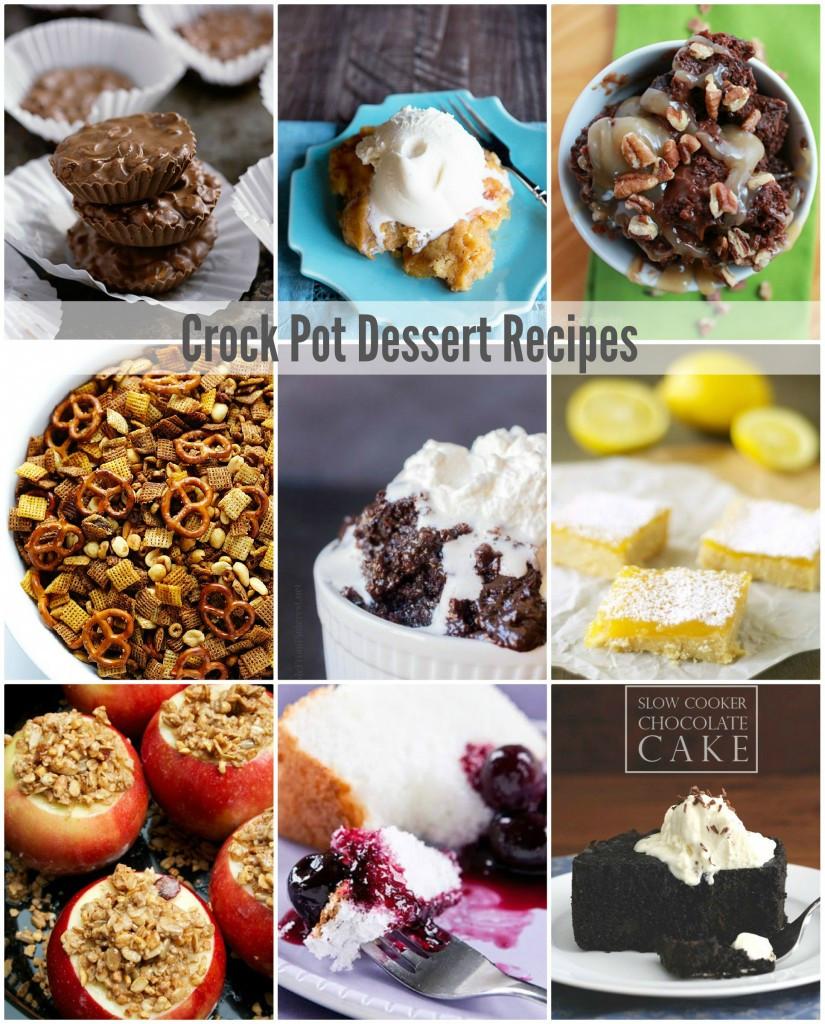 Slow Cooker Dessert Recipes  Crock Pot Dessert Recipes The Idea Room