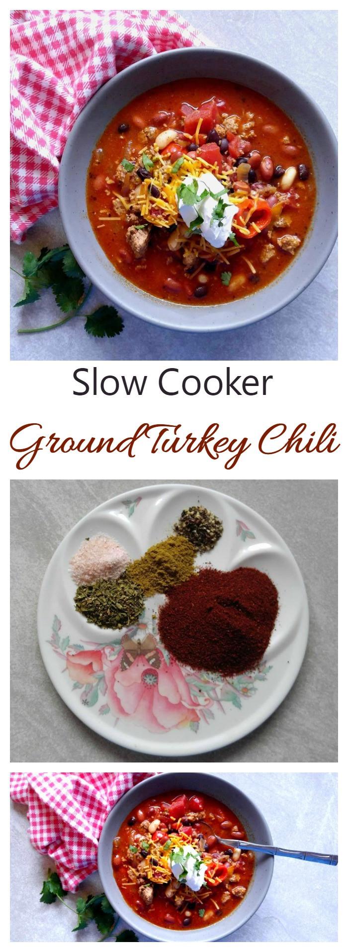 Slow Cooker Ground Turkey  Ground Turkey Chili Slow Cooker fort Food