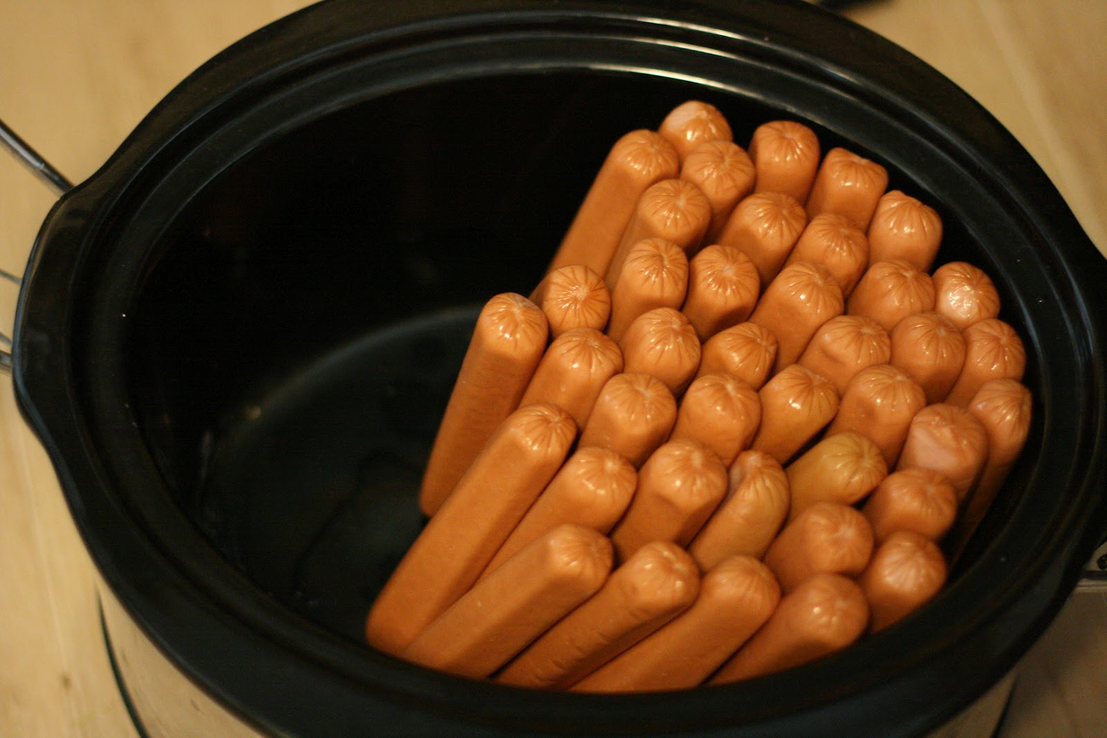 Slow Cooker Hot Dogs  Crock Pot Hot Dogs for a Crowd A Year of Slow Cooking