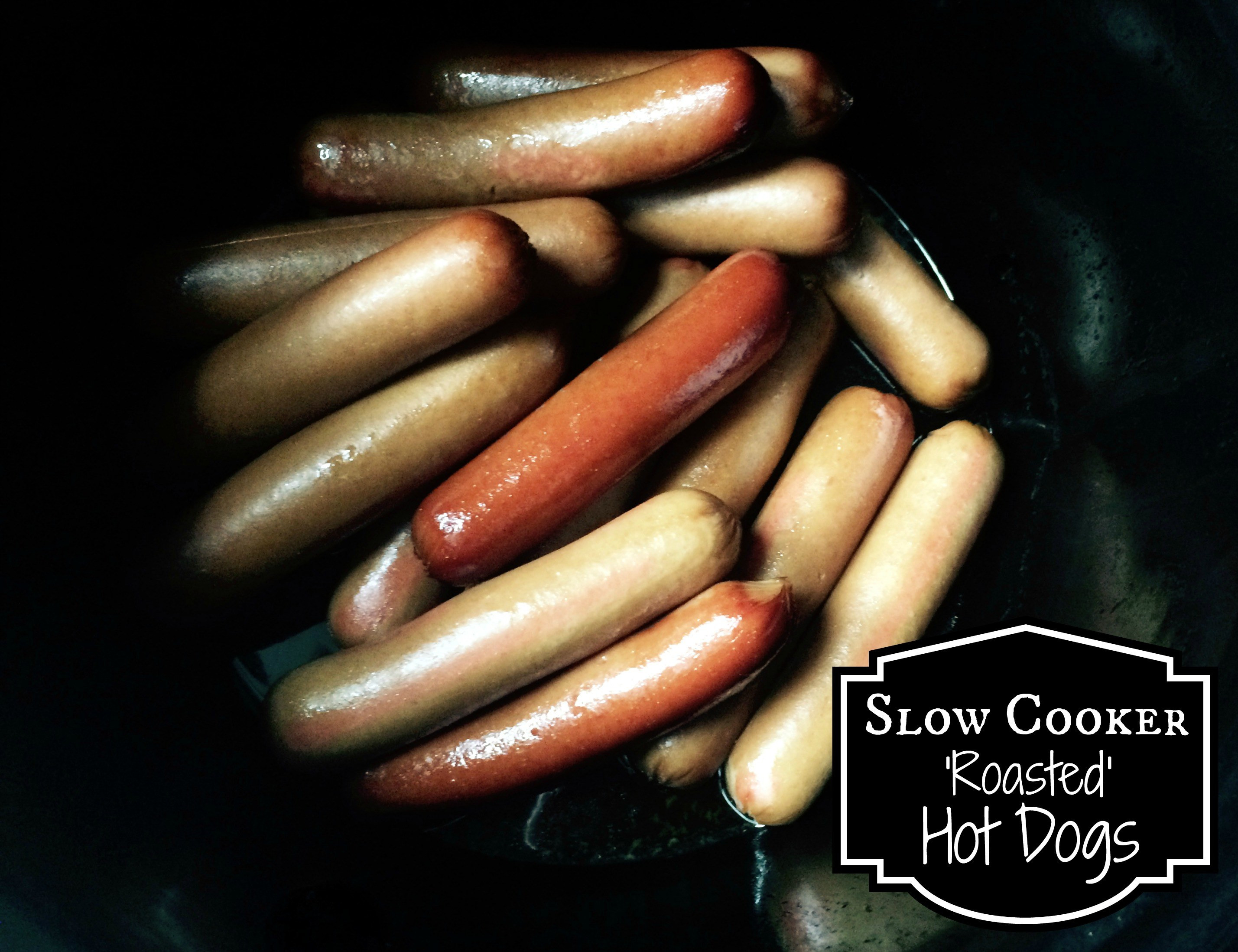 Slow Cooker Hot Dogs  Slow Cooker Roasted Hot Dogs Aunt Bee s Recipes