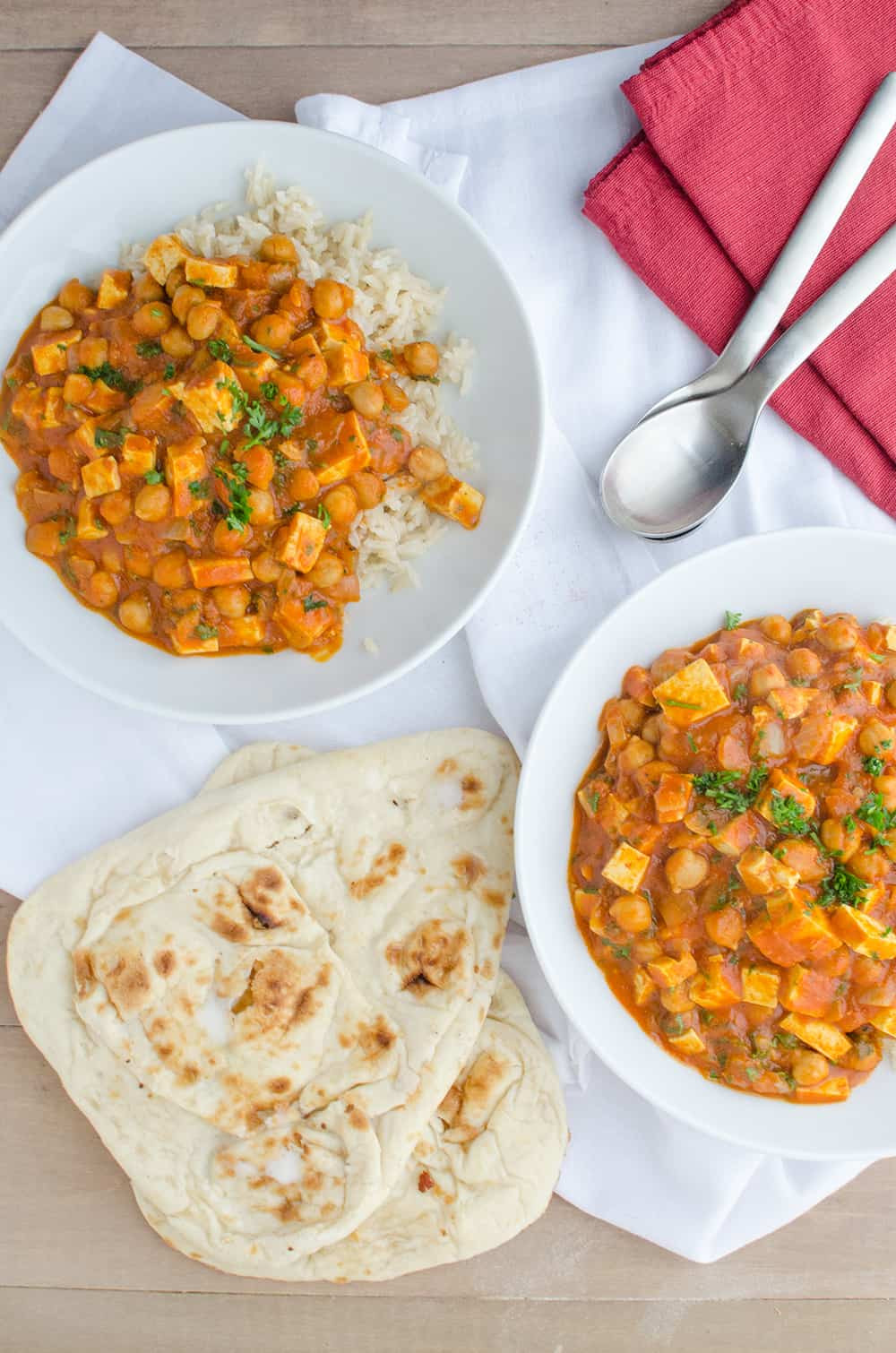 Slow Cooker Indian Vegetarian Recipes  Slow Cooker Butter Chickpeas Video Delish Knowledge