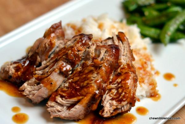 Slow Cooker Pork Loin  Slow Cooker Pork Tenderloin with Orange Hoisin Glaze