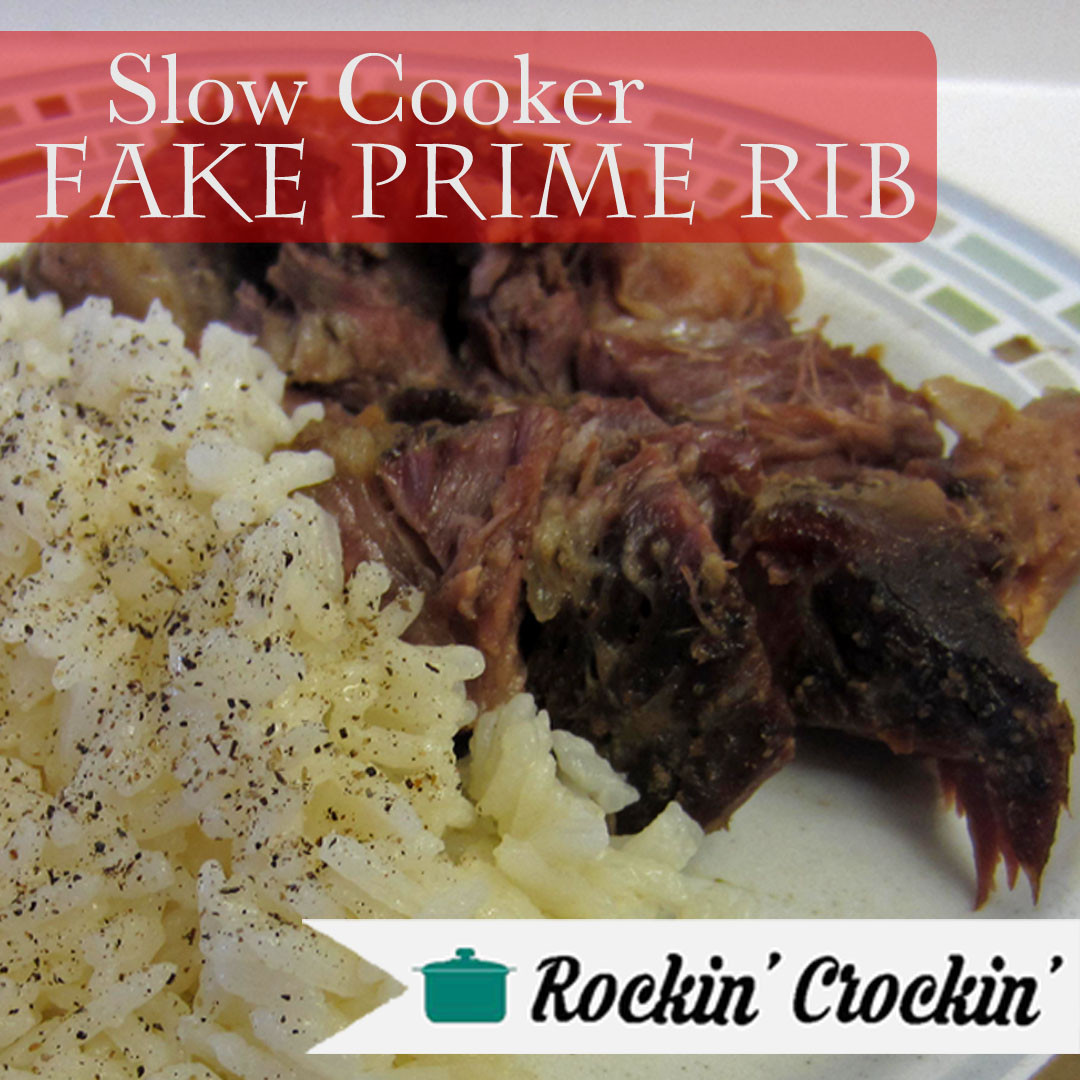 Slow Cooker Prime Rib  Slow Cooker Beef Recipes