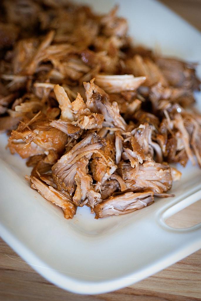 Slow Cooker Pulled Pork Shoulder  Slow Cooker Pulled Pork BigOven