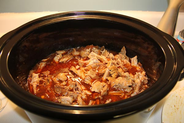 Slow Cooker Pulled Pork Shoulder  slow cooker pork shoulder