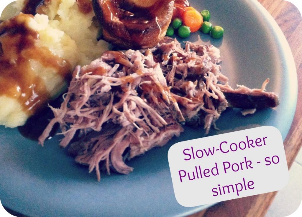Slow Cooker Pulled Pork Shoulder  Slow Cooker Pulled Pork Recipe