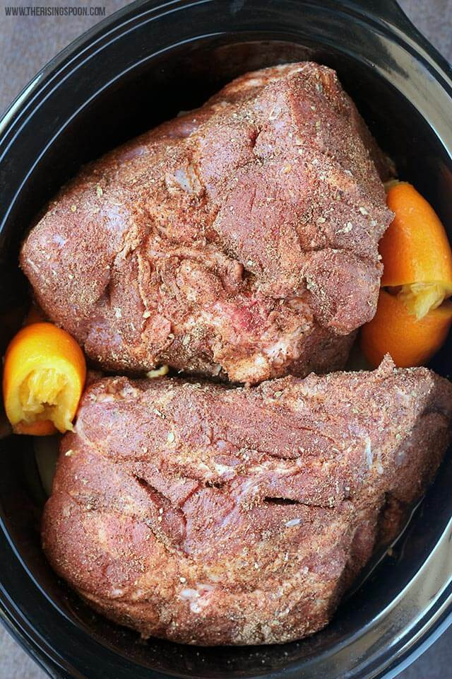 Slow Cooker Pulled Pork Shoulder  Slow Cooker Pork Shoulder For Pulled Pork & Carnitas